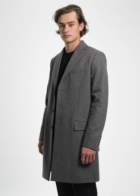 Harmony Grey Magnus Wool Coat
