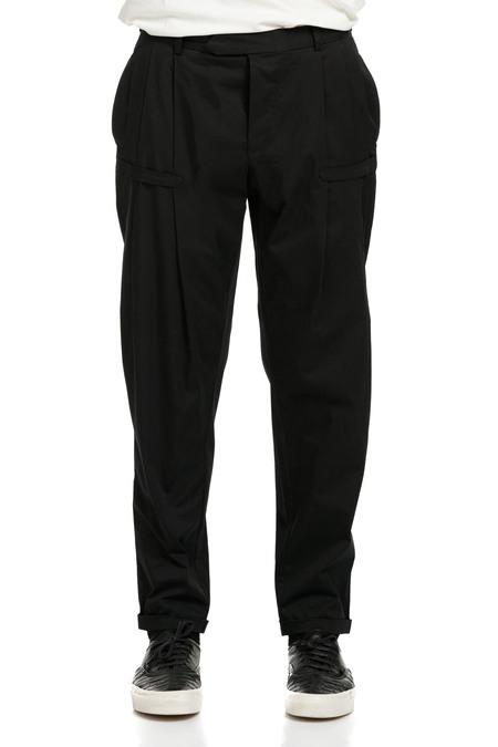 Nous Sommes D'ailleurs Light Cotton Black Pants
