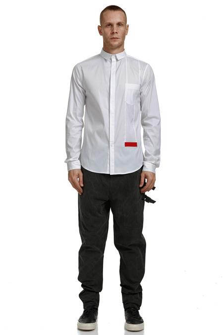Nous Sommes D'ailleurs White Shirt