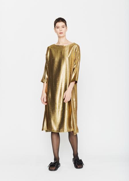 Wray Emily Dress - Metallic Gold