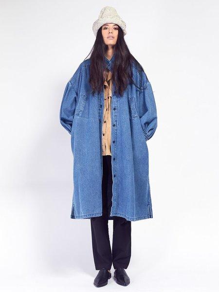 69 Pleated Coat Dress