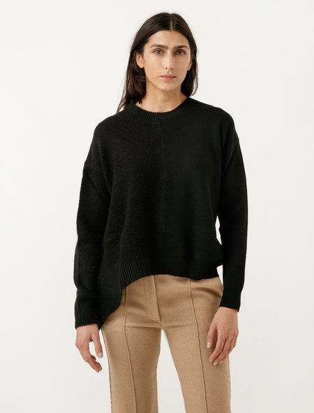 MM6 by Maison Margiela Collage Sweater - Black
