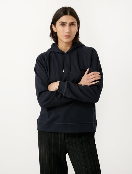 Norse Projects Liva Hoodie - Navy