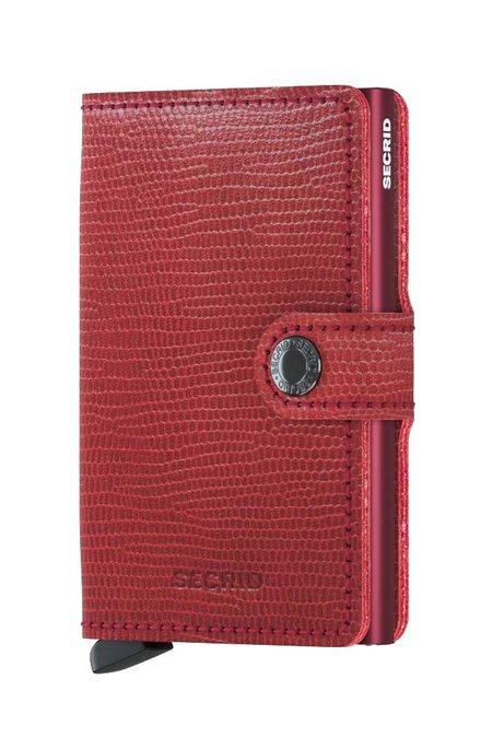 Secrid Mini Wallet  - Rango Red Bordeaux