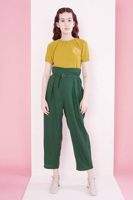 Samantha Pleet Regent Pants - Forest