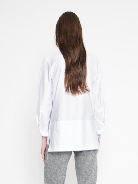 Diarte Pavo Cotton White Shirt