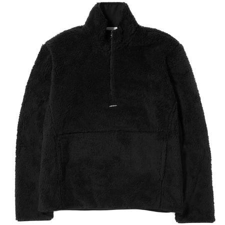Livestock Half Zip Pile Fleece - Black