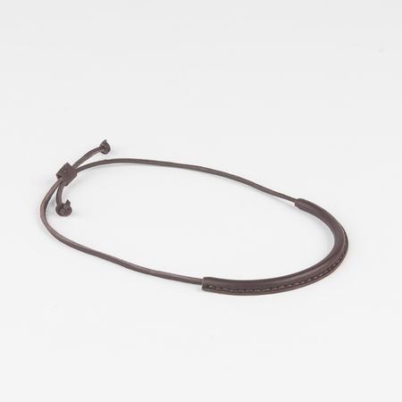 Crescioni Circuit Necklace in Chocolate