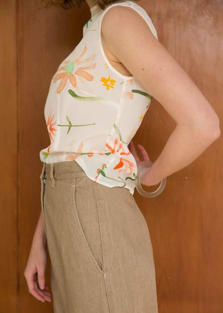 Penny Sage Double Fantasy Top - Wildflowers