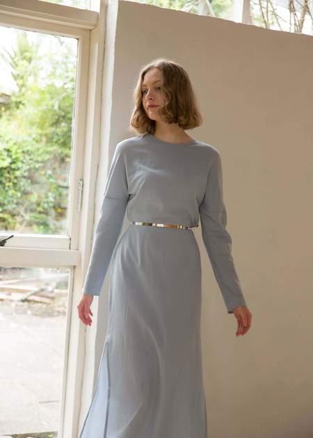 Penny Sage Stardate Dress - Blue