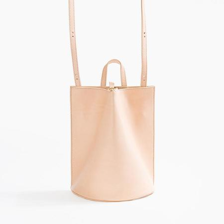 The Common Knowledge Pinch Convertible Bag in Nude