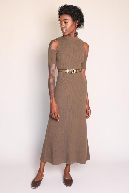 Shaina Mote Freja Dress in Sienna
