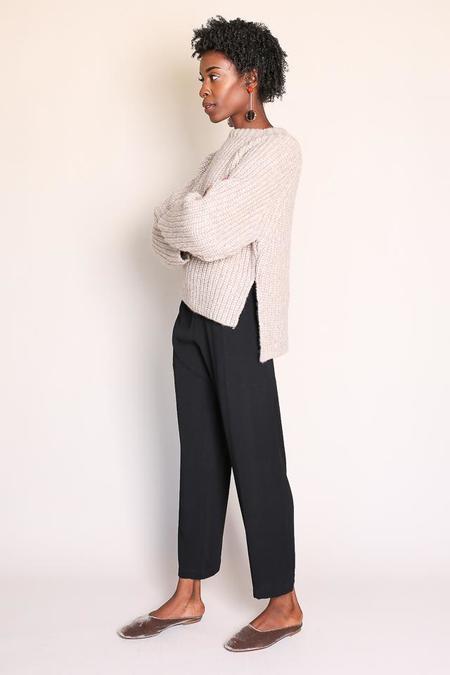Shaina Mote Fuerza Sweater in Melange Dun