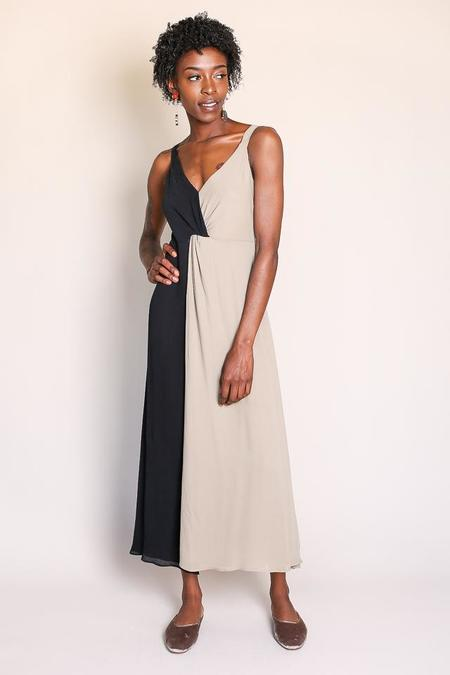 Shaina Mote Noa Dress in Dun/Onyx