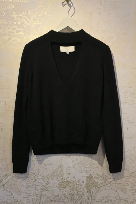 Michelle Mason Wool/Cashmere Choker Sweater