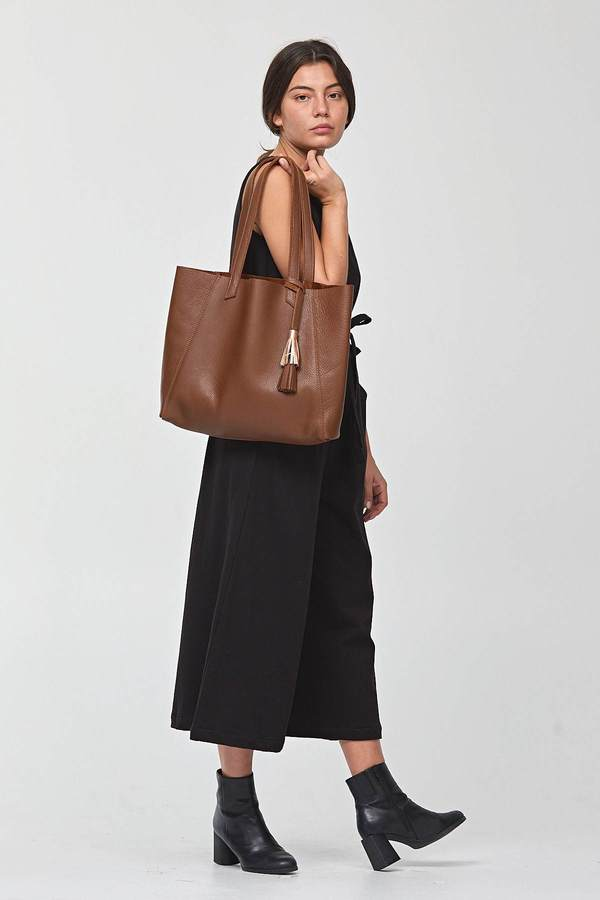 Shana Luther June Tote Brown