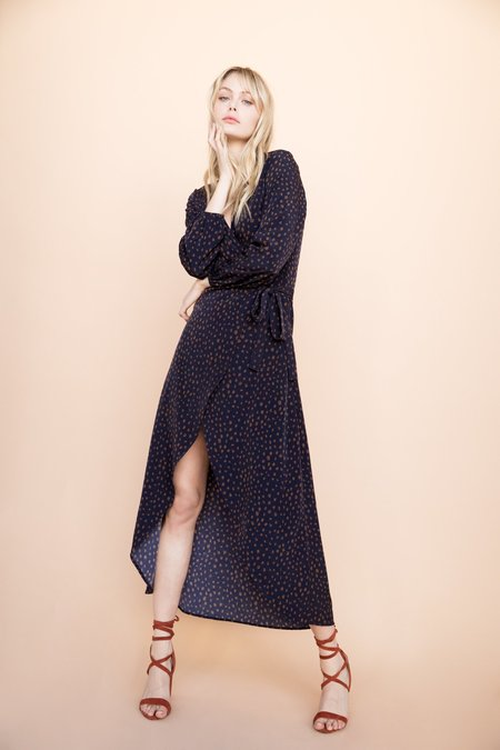 BETWEEN TEN Natalie Wrap Dress