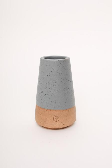 Willowvane Matte Cone Vase - Grey