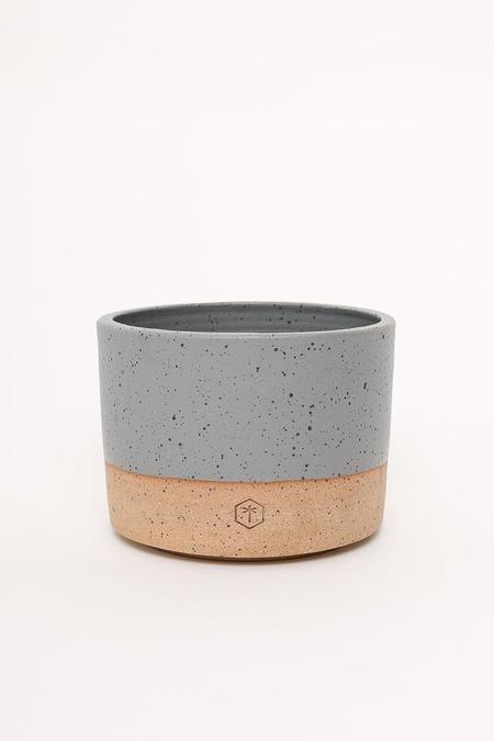 Willowvane Matte Large Planter - Grey