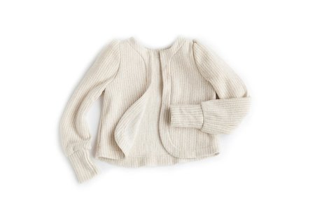 Kids Telegraph Ave Puff Sleeve Cardigan
