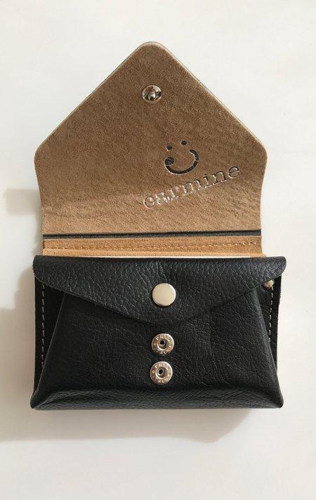 Carmine Flip Wallet - Black
