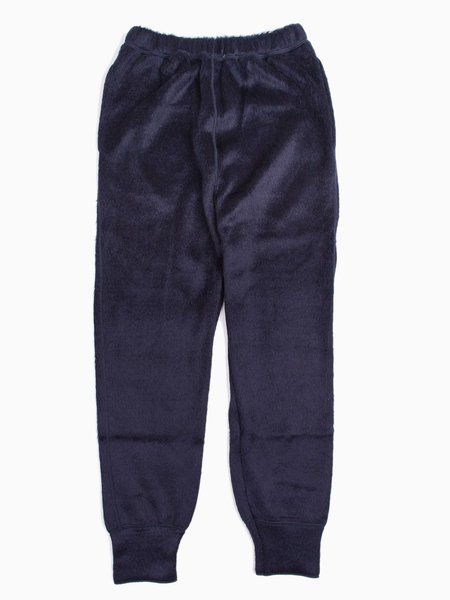 Needles String Easy Pant Shaggy Navy