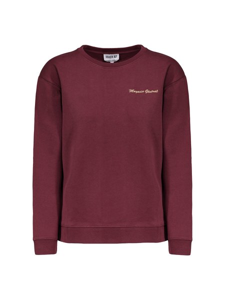 A.P.C. Magasin General Sweatshirt - Bordeaux