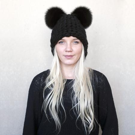 Mischa Lampert Mickey Mouse - Black
