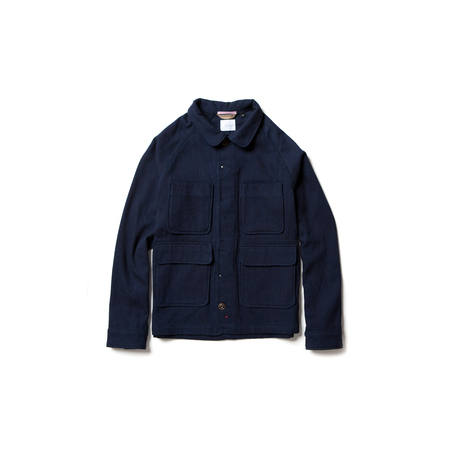 Apolis Indigo Wool Chore Jacket