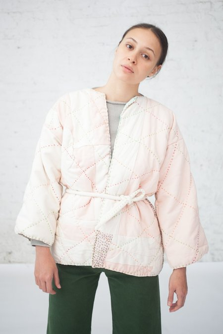 CMC Quilted Jacket XV with Belt in Pink