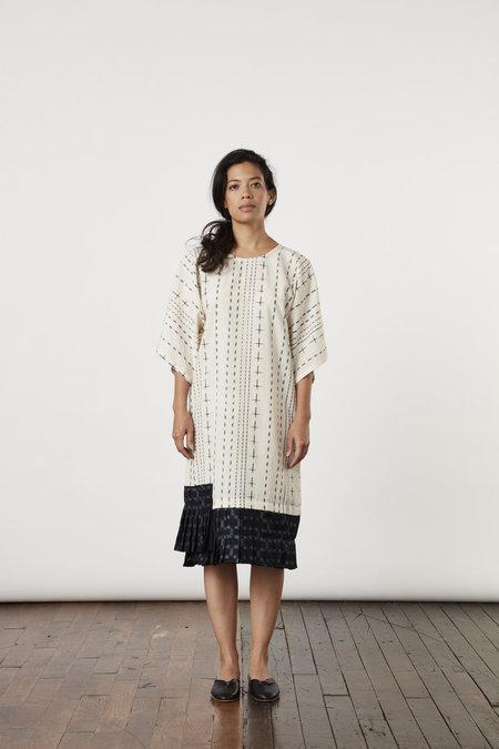 Tantuvi Pleated Kimono Tee Dress