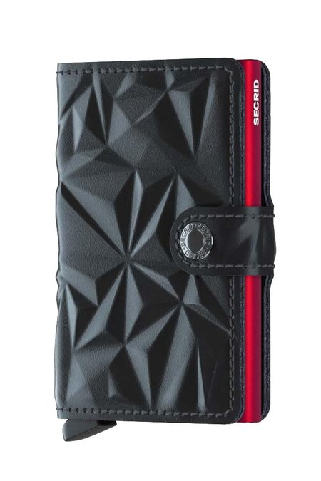 Secrid Mini Wallet Prism - Black Red