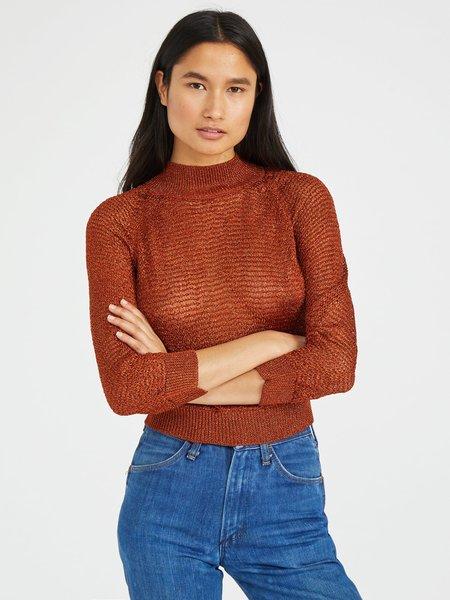 Mila Zovko Joni Sweater - Copper