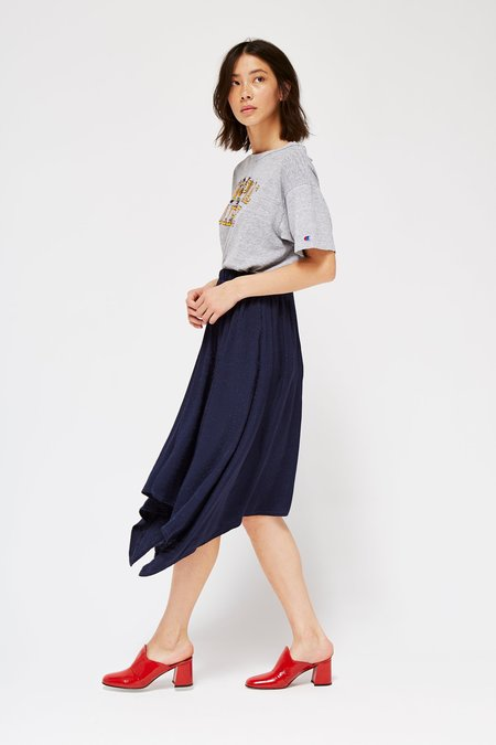 Lacausa Panel Jacquard Skirt