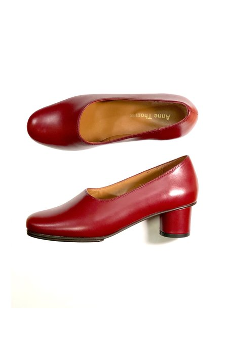 Anne Thomas Jeanne Pump - Bordeaux