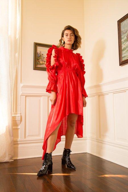 Nika Tang SS18 Pre-Order Doreen Dress - Red