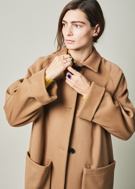 Margaux Lonnberg Astor Cuff Sleeve Coat