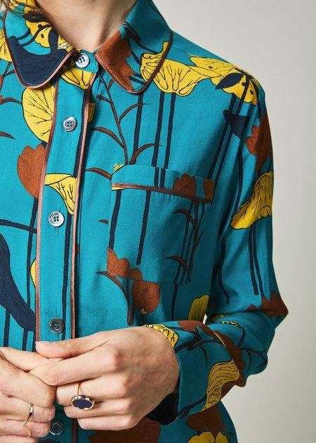 Laura Urbinati Lotus Flower Pajama Shirt