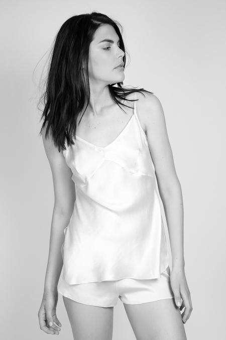 Kent Woman Krush Organic Silk Camisole - Deep Claret