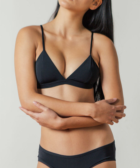Land of Women Super Soft Bra in Black