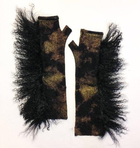 Arae Eskimo Long Fingerless Gloves