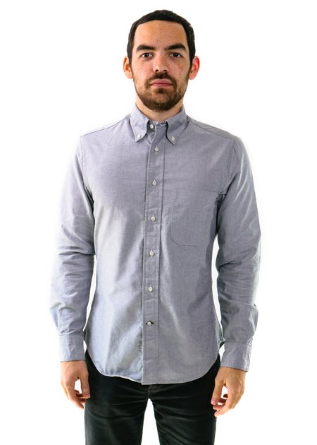 Gitman Vintage Oxford Shirt - Grey