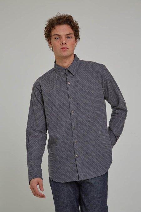 18 Waits Soft Grey Diamonds Dylan Shirt