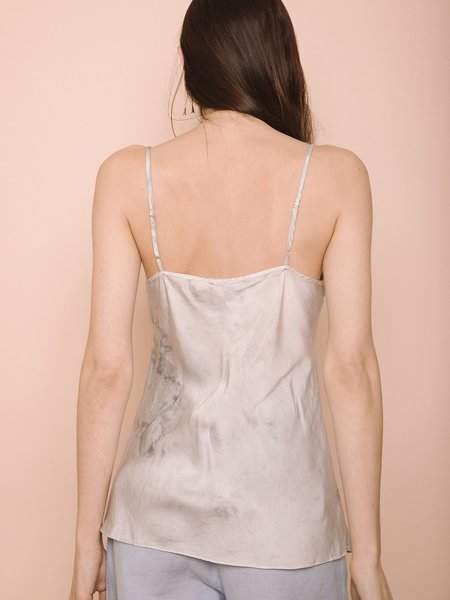 Audrey Louise Reynolds Silk Activated Charcoal Tank