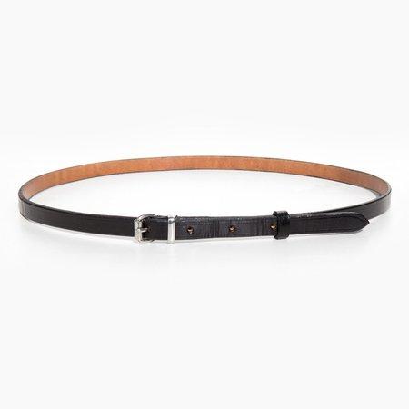 A Détacher Black Amelia Classic Skinny Belt