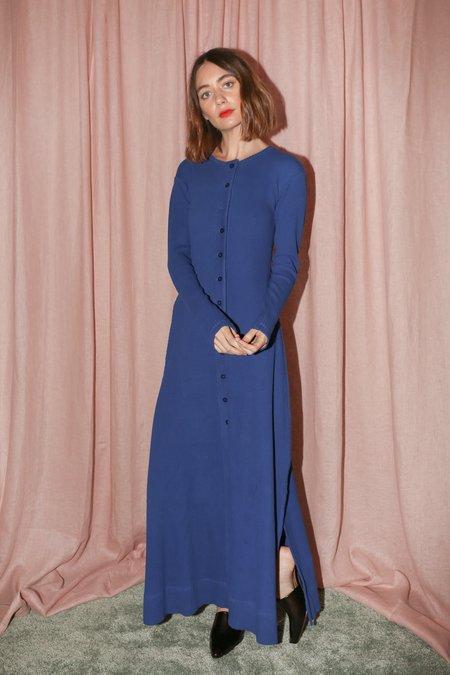 Delfina Balda Tere Knit Dress in Cobalt