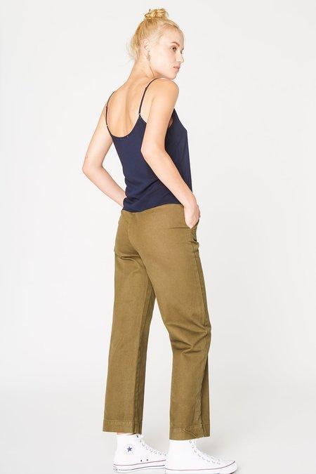 Lacausa Uniform Trouser in Brown