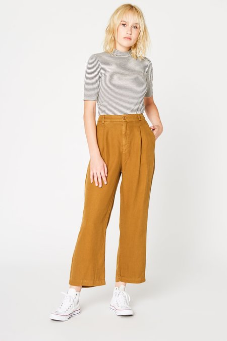 Lacausa Clothing Isabelle Trousers in Bronze