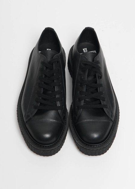 Dressed Undressed George Cox Collab Leather Sneakers - Black