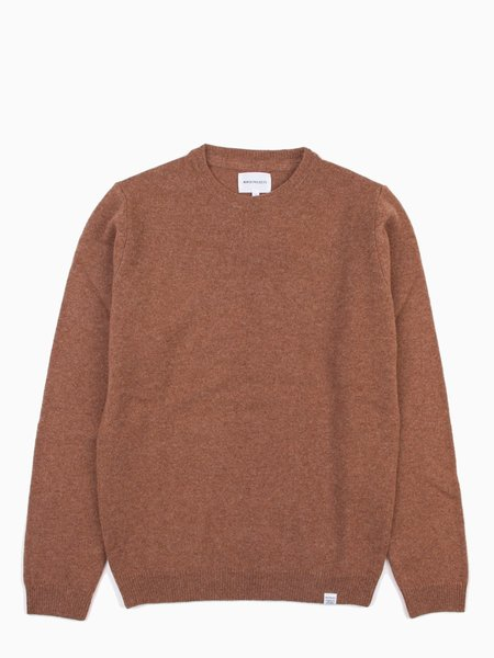 Norse Projects Sigfred Lambswool Zircon Brown